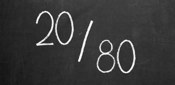 Pareto Prinzip 20/80-Regel für Lehrer zum Vermeiden von Stress und Burnout lehrer-zeit.de