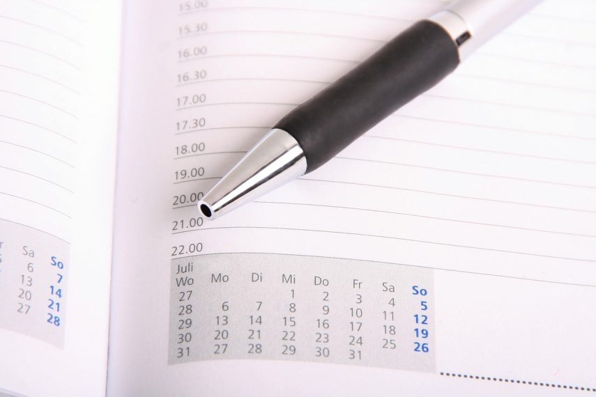 Lehrer-Tagesplan