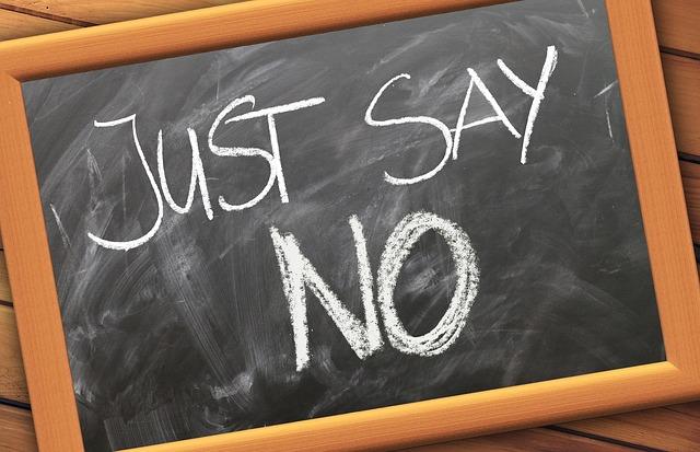 Nein sagen als Lehrer