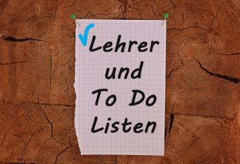 To Do Listen für Lehrer