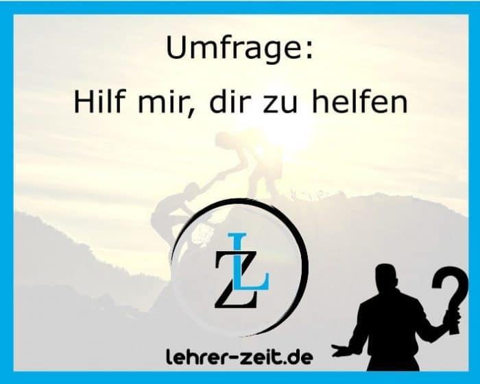 015 - Hilf mir dir zu helfen - lehrer-zeit.de