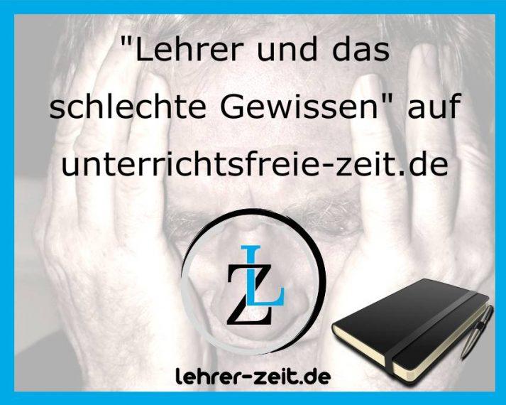 Schuldgefühle und das schlechte Gewissen - lehrer-zeit.de