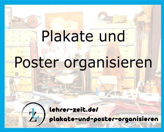 053 - Plakate und Poster organisieren - lehrer-zeit.de