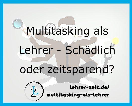 058 - Multitasking als Lehrer Insta - lehrer-zeit.de: Lehrer Blog und Podcast für Zeitmanagement Organisation und gegen Stress