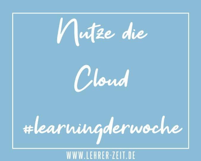 Nutze die Cloud - lehrer-zeit.de
