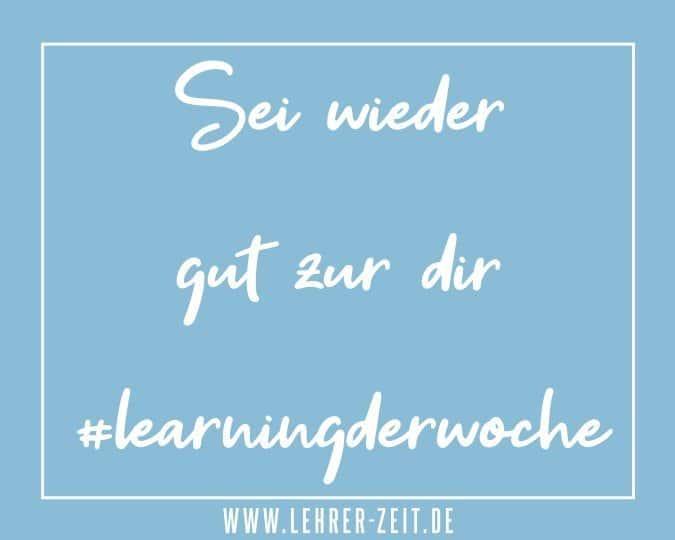 Sei wieder gut zu dir - lehrer-zeit.de