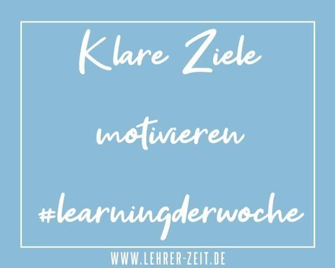 Klare Ziele motivieren - lehrer-zeit.de